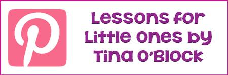 Lessons for Little Ones on Pinterest