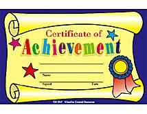 Student  Awards- Certificate of Achievement Teacher Classroom Resources