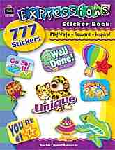 Stickers Book Student Rewards Classroom Supplies