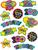 Hooray 100 Days Stickers Classroom Supplies