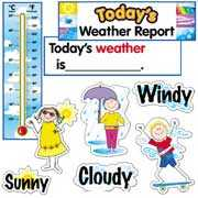 Bulletin Board Set/Classroom Display Weather